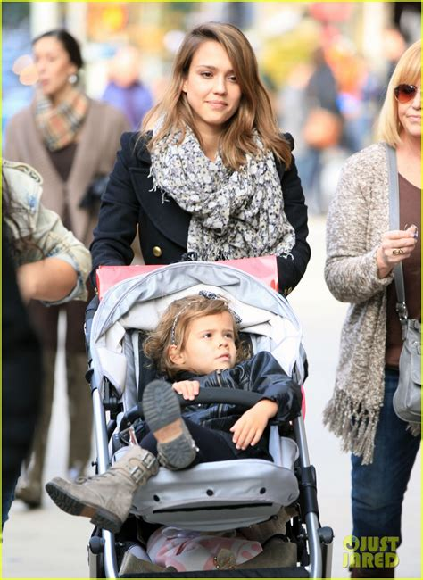 full sized photo of jessica alba out nyc family 04 photo