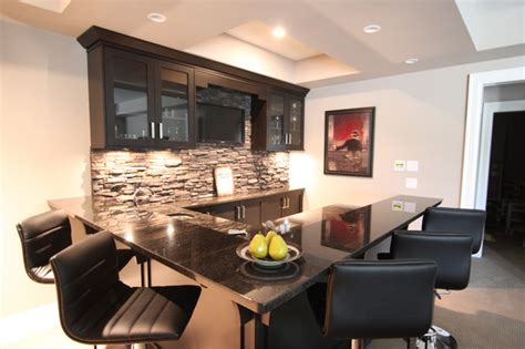 modern bar ideas for basements basement bar modern basement vancouver by arts