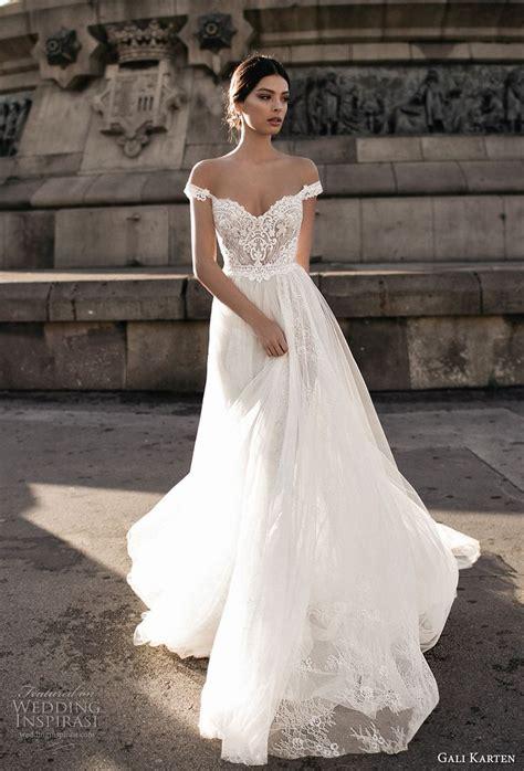 shoulder wedding dress ideas  pinterest