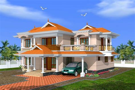 creative exterior design attractive kerala villa design s