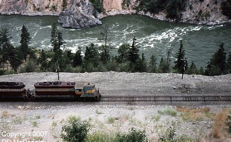 Mba Thompson River Canada by Electric Canadian Pacific Railway Thompson River