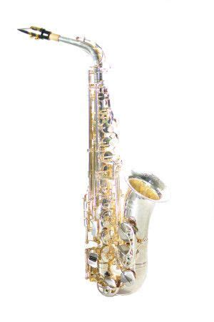 Chateau Saxophone chateau alto saxophone vch 800s1y2 thicker silver plated