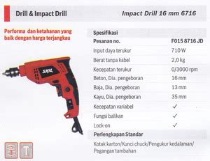 Bor Listrik Cordless Impact Wrench 16 Mm Hitachi Wr 14dl2 product of mesin bor listirk supplier perkakas teknik