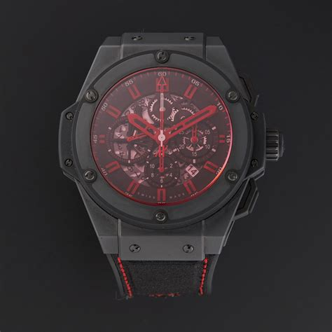 Hublot Spider King Power Leather 3 Colours hublot king power reserve automatic pre owned iconic timepieces touch of modern