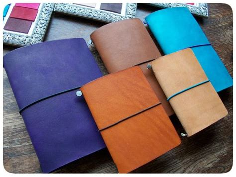 Diy Travelers Notebook Leather Cover Classic Reguler traveler s notebook leather cover a5 large moleskine