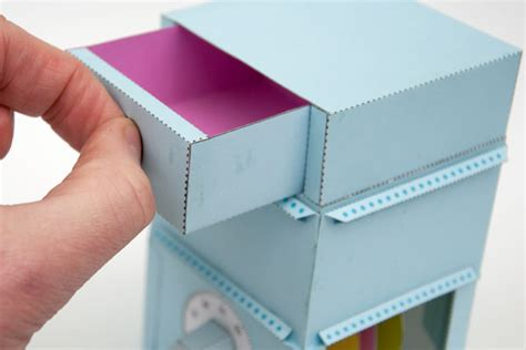 How To Make Paper Lock - papercraft safe is lockable clever fragile make