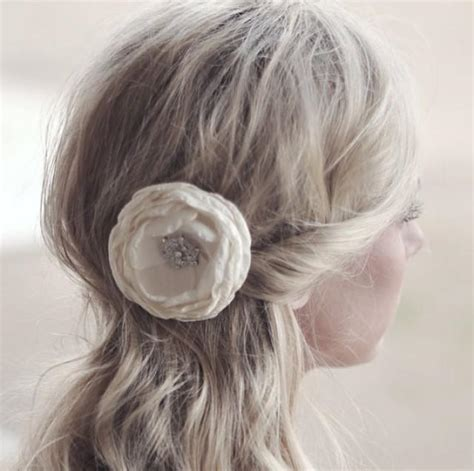 Wedding Hair Accessories Ivory by Wedding Hair Accessories Ivory Flower Hair Flower