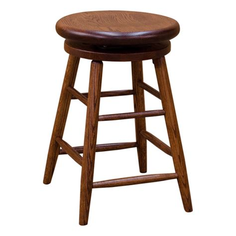 oak bar stools swivel swivel bar stool red oak stth3000sbs240