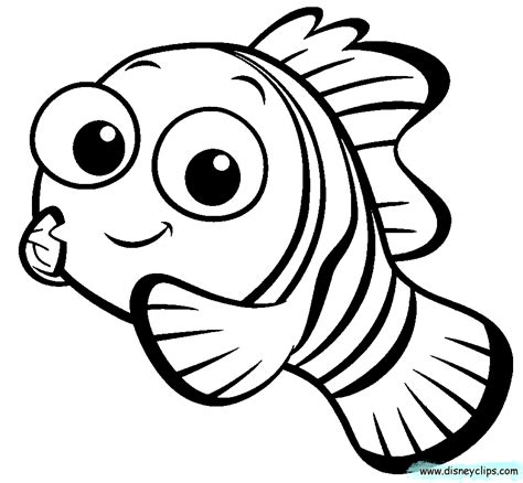nemo coloring pages to download and print for free