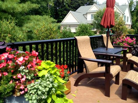 Decking Ideas For Garden Ideas For Gardening On Your Deck By Archadeck St Louis Decks Screened Porches Pergolas By