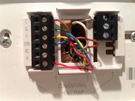 honeywell thermostat rthd doityourselfcom community forums