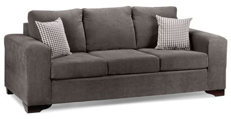 canadian couch fava sofa grey leon s
