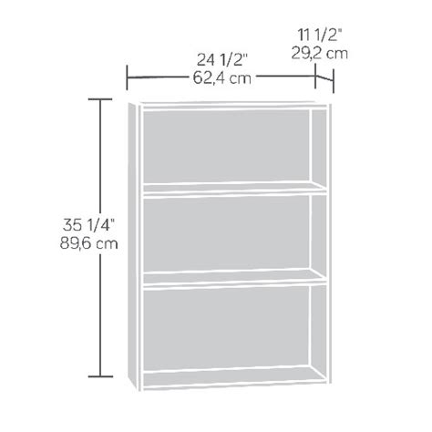 sauder beginnings 3 shelf bookcase sauder beginnings 3 shelf bookcase white boscov s