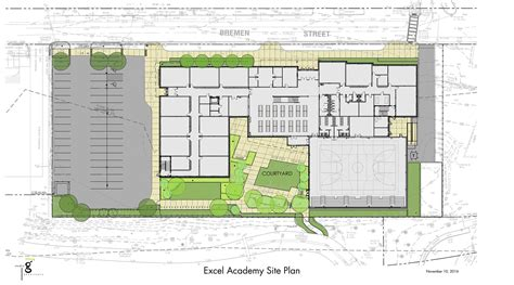 site plan exle studio g architects learn portfolio excel academy