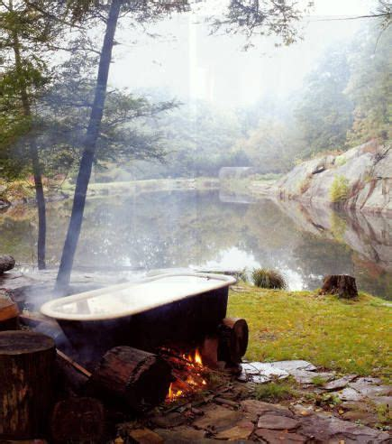 outdoor bathtub 1000 images about wood fired hot tub on pinterest