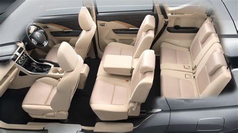 mitsubishi expander seat mitsubishi xpander expander with beige interior spotted