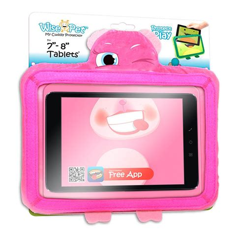 fundas para tablet de 8 pulgadas funda ebook tablet 8 pulgadas universal wise pet rosy