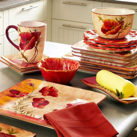 poppies dinnerware kitchen utensils pinterest