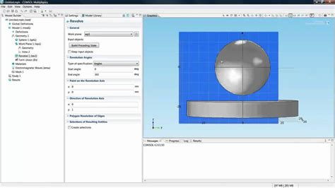 tutorial construct 2 pdf comsol 4 2 tutorial for beginners part 1 avi youtube