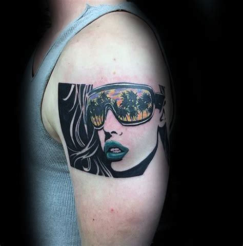 sunglasses tattoo designs top 60 best pop designs for bold ink ideas