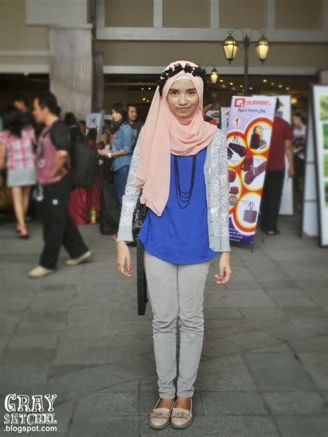 Jilbab Kerudung Pashmina Scarf Indy Denim Blue 116 best images about indonesia style on fashion weeks