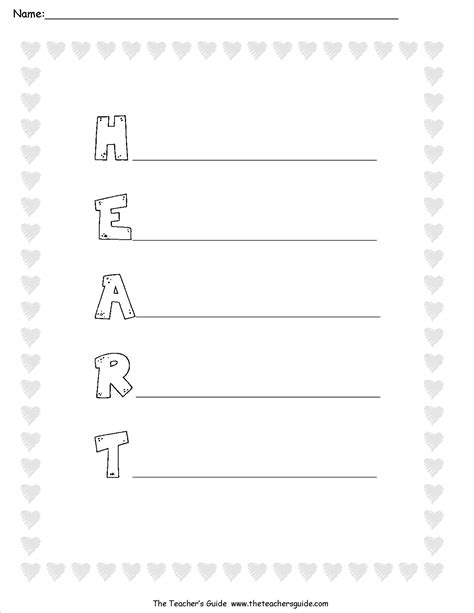Search Results For Handprint Poems Worksheets Calendar 2015 Reversal Poem Template