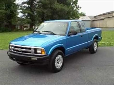 manual cars for sale 1994 chevrolet s10 on board diagnostic system 1994 chevrolet chevy s10 ls ext cab 4x4 youtube