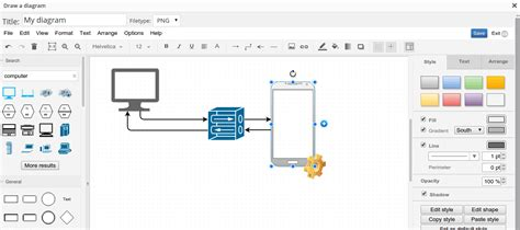 diagram editor drawit the diagram creation tool for thecmsplace