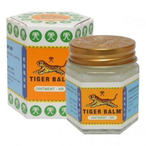 Tiger Balm White Promo baume du tigre blanc renseignements bienfaits et utilisations