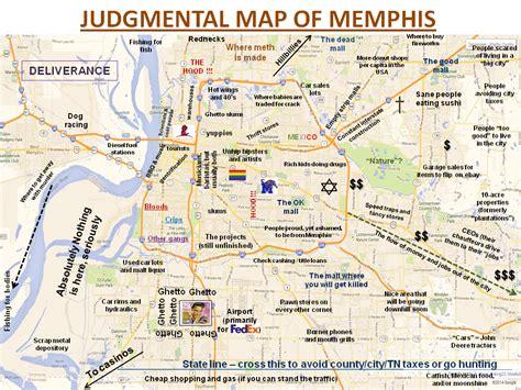 Judgmental Maps Memphis Tn By J D Copr 2014 J D All
