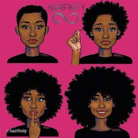 natural hairstyles cartoon hairfinity natural hair pinterest