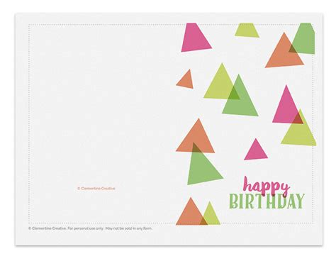 printable greeting cards reviews printable birthday card party hats