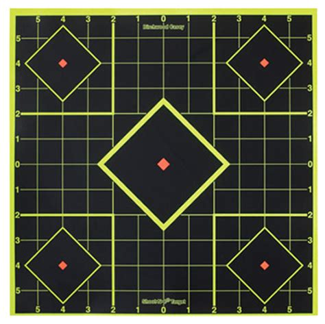 printable targets to aid with zeroing your hws how to zero an ar 15 rifle at 50 yards