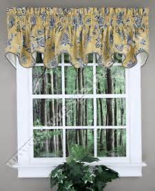 Valances At Jcpenney Jeanette Lined Duchess Filler Valance Yellow Ellis