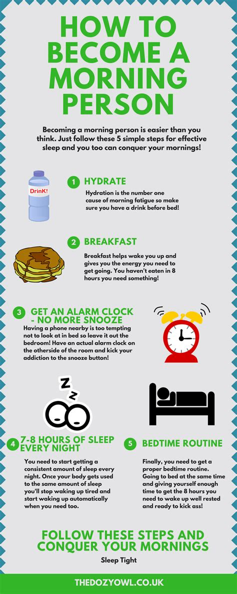 How To Become A by 5 Insanely Simple Steps To Becoming A Morning Person