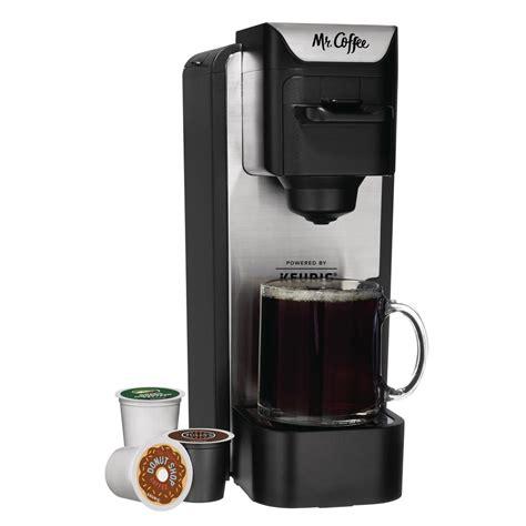 Coffee Maker 100 Cup mr coffee single serve k cup coffee maker black silver