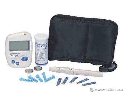 Alat Untuk Test Gula Darah alat test gula darah gluco dr bio sensor 250rb pramuka alkes shop web iklan