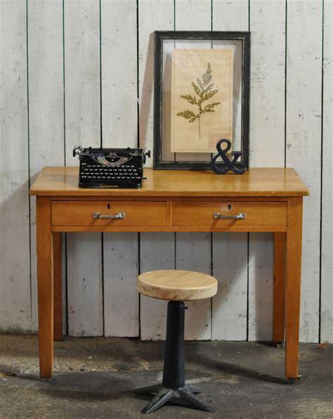 vintage oak s desk vintage solid oak 1930 s clerk s office desk