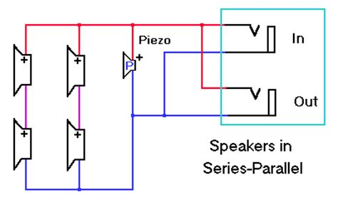 inductor in parallel with speaker wiring a 4 x 12 speaker cabinet