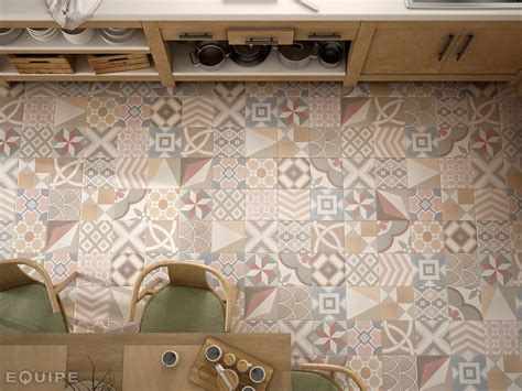 patchwork fliesen pavimento rivestimento in ceramica caprice deco by equipe