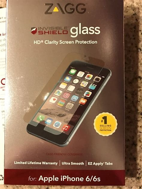 zagg invisible shield glass hd clarity screen protection