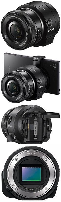 Lensa Sony Ilce Qx1 tech data for sony ilce qx1