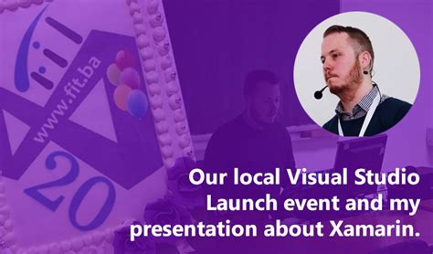 xamarin tutorial ppt local visual studio launch event and my presentation about