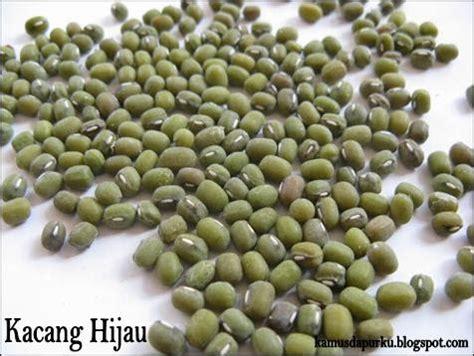 kamus dapurku kacang hijau