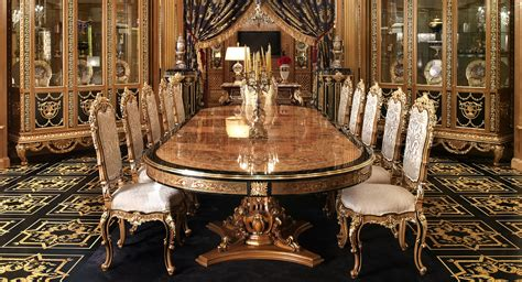 Exclusive Dining Room Furniture Luxury Dining Furniture Brucall