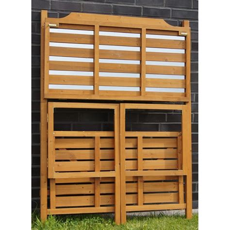 banco da lavoro legno banco da lavoro in legno pieghevole per giardinaggio e fai