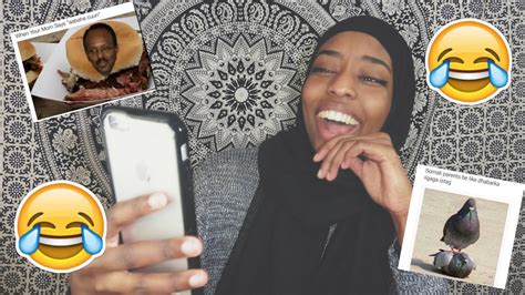 Somali Memes - reacting to funny somali memes youtube