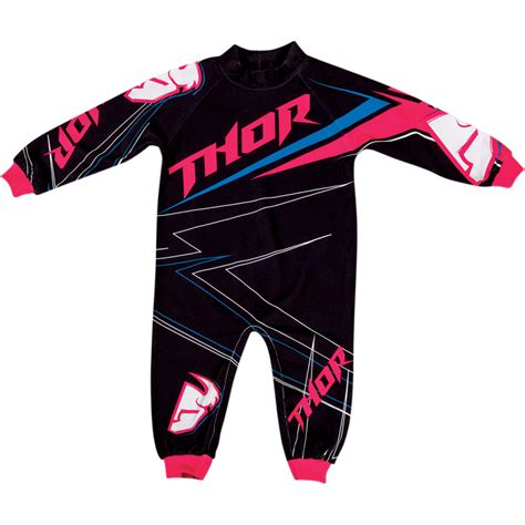 baby motocross 2015 thor mx infant one piece stripe pajamas child baby