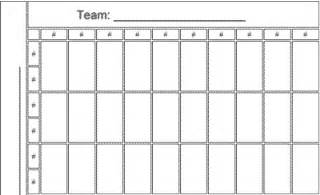 50 square nfl football office pool printable template