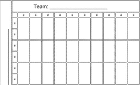 How To Read Office Football Pool 50 Square Nfl Football Office Pool Template And